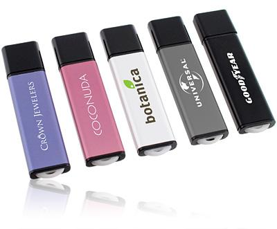 Aluminum Pink Micro USB Memory Stick 16GB with Large Capacity