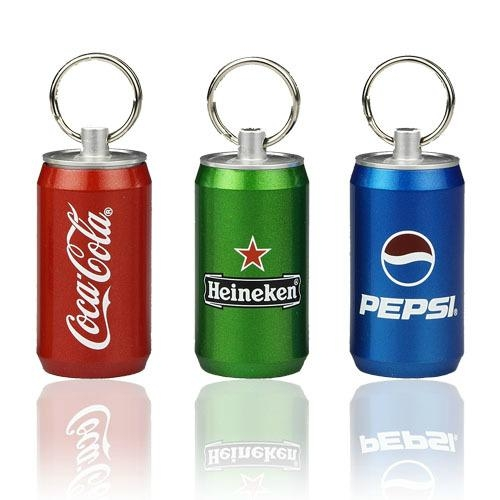Promotion Gift Can Metal Flash Drive 2GB 4GB 8GB Password Protection