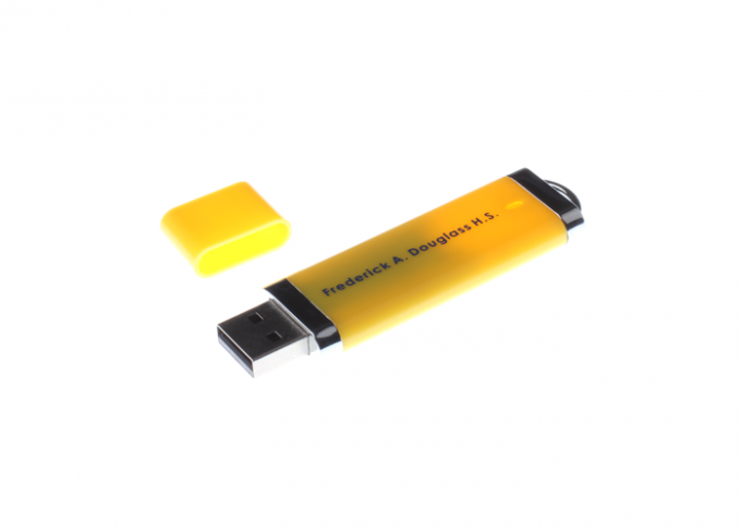 High Speed Plastic USB Flash Drive , Custom USB Memory Stick 4GB