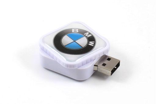 Gifts Plastic Twist USB Thumb Drives , USB 3.0 64GB Thumb Drive