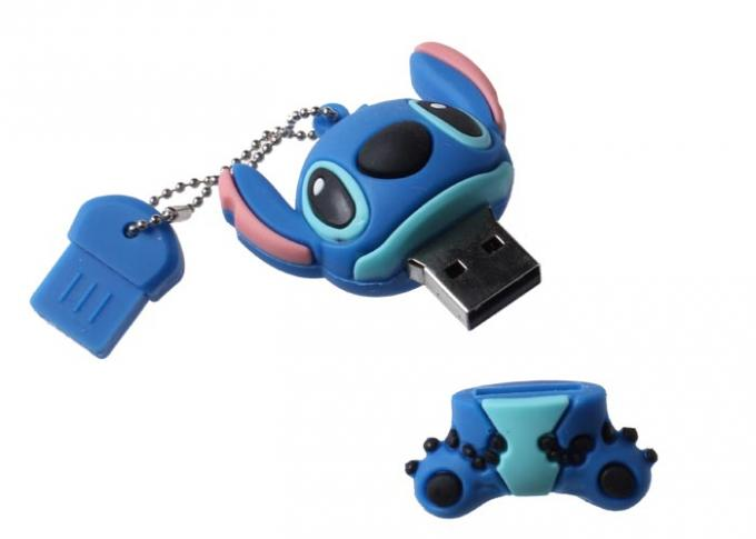 Personalized PVC Usb Flash Thumb Drive 512GB 2.0 Interface For Gift