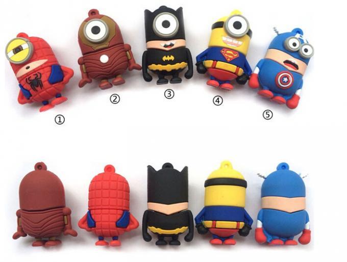 usb minion super hero man bat man usb flash drive 32GB Memory Stick Pen Drive usb 2.0