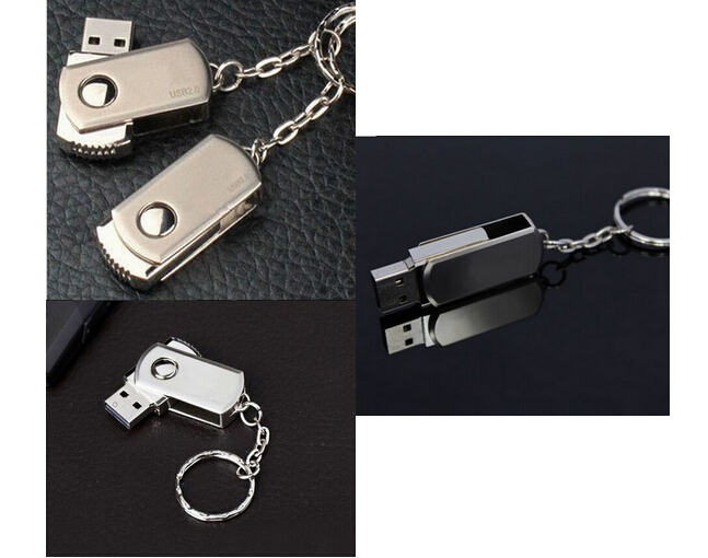 USB Disk 32G Stainless Steel  Metal Usb Flash Drive usb Flash Memory Pen Drive