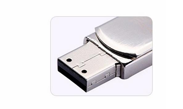 Stainless Steel Waterproof Micro USB Memory Stick 4G U Disk USB 2.0