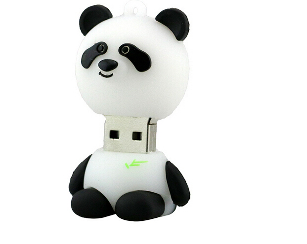 Promotional USB Cartoon Bearcat 64gb Usb Flash Drive Panda Animal Flash Memory Stick Pendrive Gift