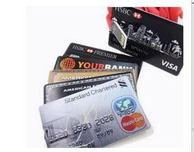 Ultra Thin Credit Card USB Drive 4GB USB Sticks , 4 Gig Thumb Drive