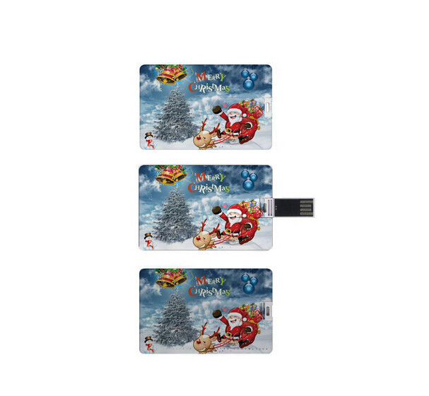 Promotional Gift OEM 2gb credit card thumb drive 2.0 High Speed