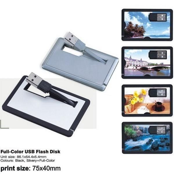 Custom printed credit card usb flash , Full compatibility with USB 2.0 and 3.0