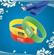 32GB Flashdrive Bracelet Thumb Drive / USB Storage Bracelet Printing