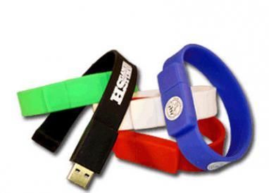 Customizable Slap Wristband Pen Drive 16gb USB Memory Stick For Gift