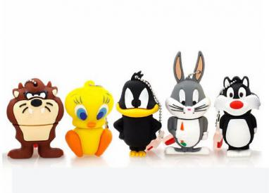 animal 4G Daffy 8G Duck 16G Bugs Bunny Crow Lion cat Pendrive Memory Stick